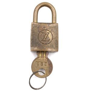 Louis Vuitton Gold Keepall Speedy Lock Key Set#205